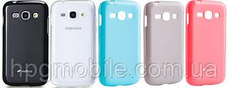 Чехол для Samsung Galaxy Ace 3 S7270, S7272 - Melkco Poly Jacket (пленка в комплекте)