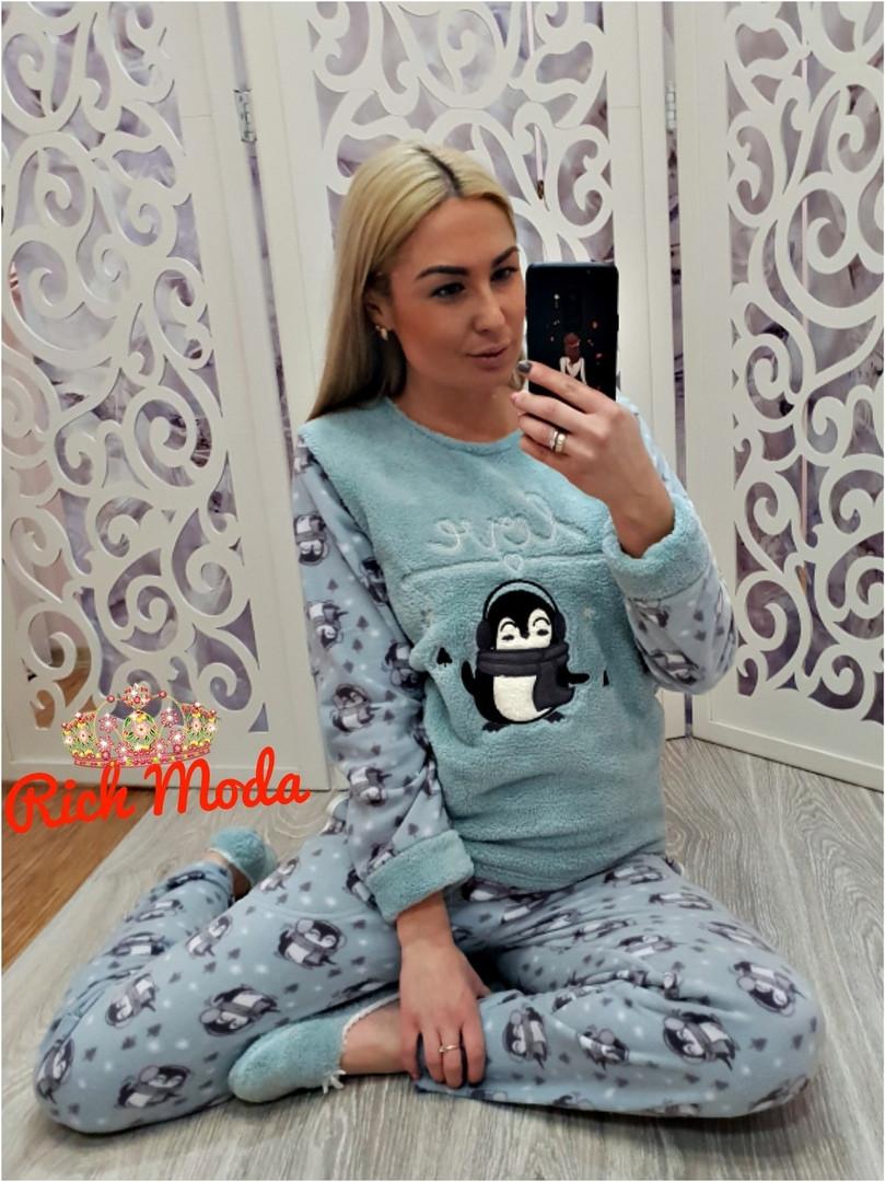 Тёплая женская пижама махровая Турция — купить недорого в Харькове в ... e366319dcde0e