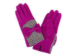 Перчатки ETERNO Перчатки женские шерстяные  ETERNO (ЭТЕРНО) E2529-violet