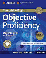 Objective Proficiency Second Edition Student's Book with answers and Downloadable Software and Class Audio CDs