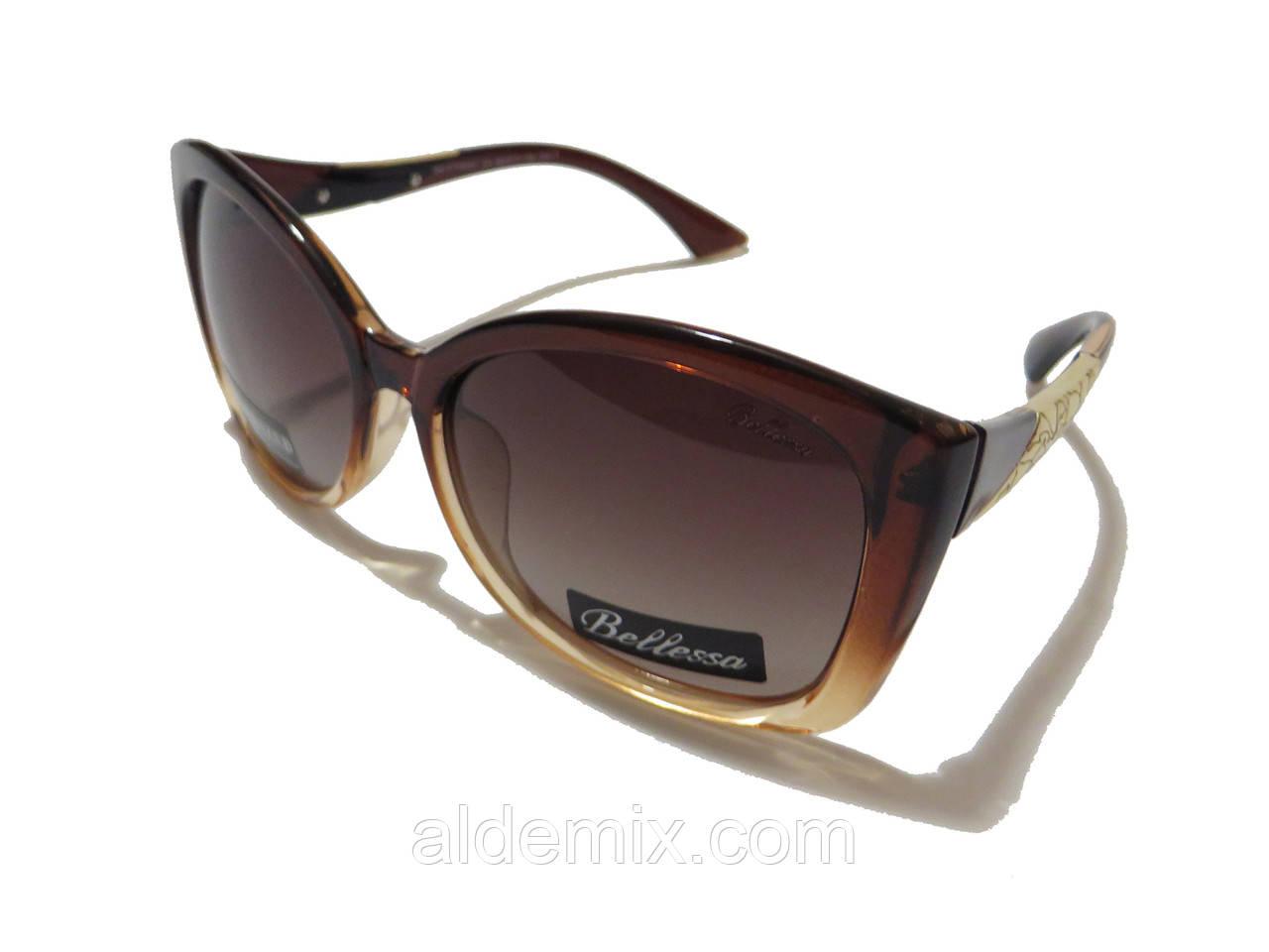 Женские солнцезащитные очки, коричневые , фото 1