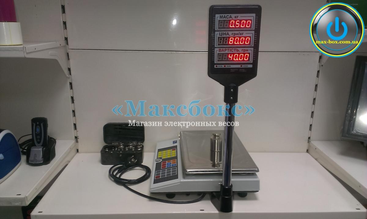 Весы торговые ВТА-60/30-5D-А Промприбор
