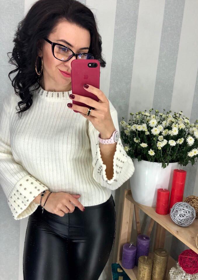 Женский модный свитер РАЗНЫЕ ЦВЕТА(Фабричный Китай ) Код 116