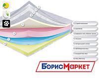 Ортопедический матрас Веве Dz-mattress, матрас ортопедический с пеной Memory высотой 21 см