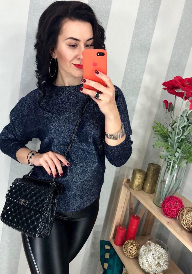 Женский элегантный свитер РАЗНЫЕ ЦВЕТА(Фабричный Китай ) Код 010