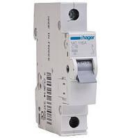 Автоматический выключатель MC150A (1P 6kA C-50A) Hager
