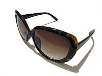 Женские очки солнцезащитные, коричневые , фото 1