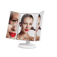 Зеркало с LED подсветкой для макияжа Superstar Magnifying Mirror Белое