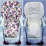 Двухсторонний чехол на стульчик для кормления Chicco Polly, фото 3