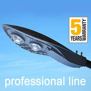 Консольний світильник LED 80W 5000К 9600lm з лінзою серія PROFESSIONAL