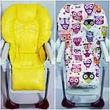 Двосторонній чохол на стілець для годування Chicco Polly, фото 5