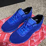 Louis Vuitton Run Away Sneakers Blue, фото 3