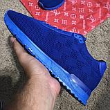 Louis Vuitton Run Away Sneakers Blue, фото 4