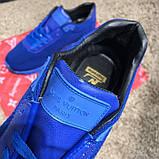 Louis Vuitton Run Away Sneakers Blue, фото 6