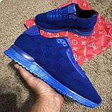 Louis Vuitton Run Away Sneakers Blue, фото 7