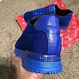 Louis Vuitton Run Away Sneakers Blue, фото 8