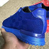 Louis Vuitton Run Away Sneakers Blue, фото 9