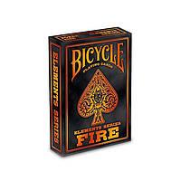 Карты для игры в покер USPCC Bicycle Fire (krut_0649)