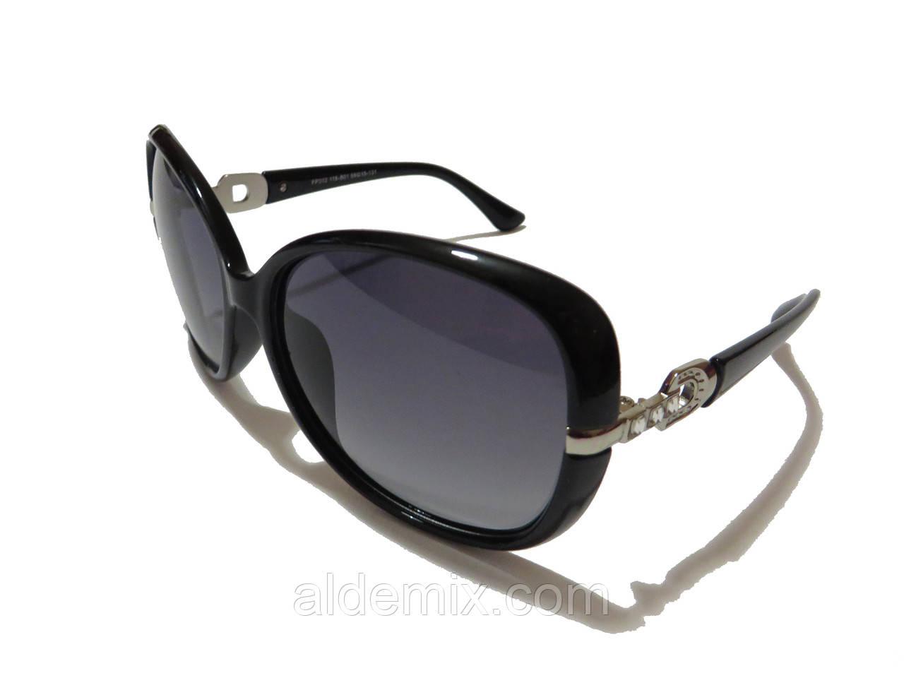 Женские очки солнцезащитные, черные , фото 1