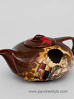 Фарфоровый заварочный чайник Поцелуй (Pavone)