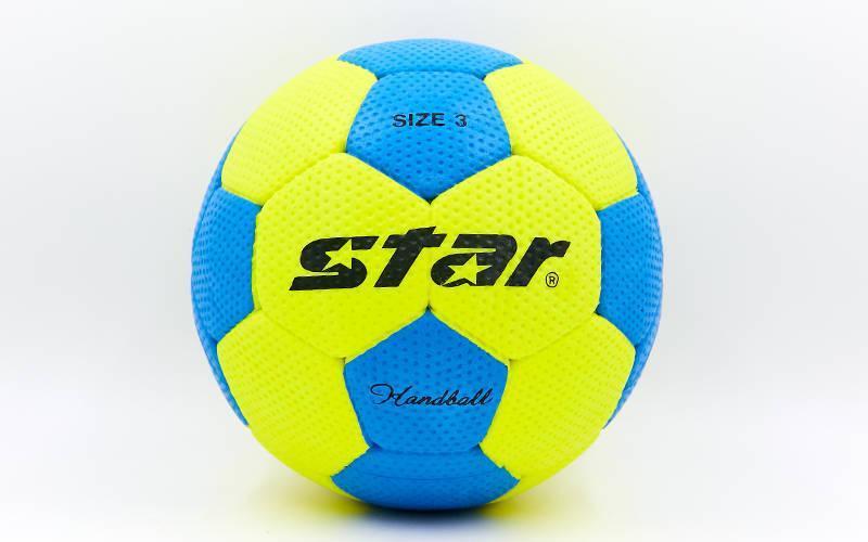 Мяч гандбольный Outdoor покрытие вспененная резина STAR №3 JMC03002