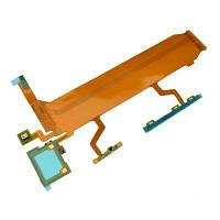 Шлейф для Sony C6802 XL39h Xperia Z Ultra, C6806, C6833 с кнопками включения,громкости и микрофоном