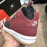 Nike Lunar Force 1 Duckboot Red, фото 2