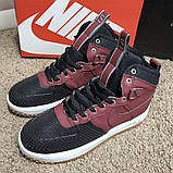 Nike Lunar Force 1 Duckboot Red, фото 6