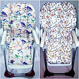 Двухсторонний чехол на стульчик для кормления Chicco Polly, фото 9
