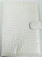 Чохол для планшетів з діагоналлю 7 дюймів білий всередині замшевий