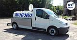 Цистерна для молока 1500 литров, на базу Renault Trafic, фото 4