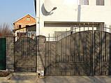 Ворота кованые в классическом стиле (MD-VKR-003), фото 2