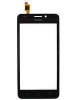 Тачскрин (сенсор) для Huawei Y635 Ascend, черный