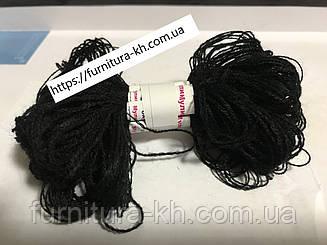 Нитки Мулине Акрил (10 шт-по 18 м) цвет Черный