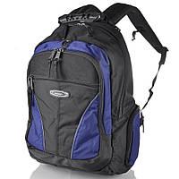 Рюкзак для ноутбука Onepolar Мужской рюкзак с отделением для ноутбука ONEPOLAR (ВАНПОЛАР) W1077-navy