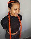 ✨🧡 Каникалон длинный оранжевый, метровый 🧡✨, фото 4