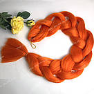 ✨🧡 Каникалон длинный оранжевый, метровый 🧡✨, фото 6