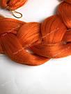 ✨🧡 Каникалон длинный оранжевый, метровый 🧡✨, фото 10