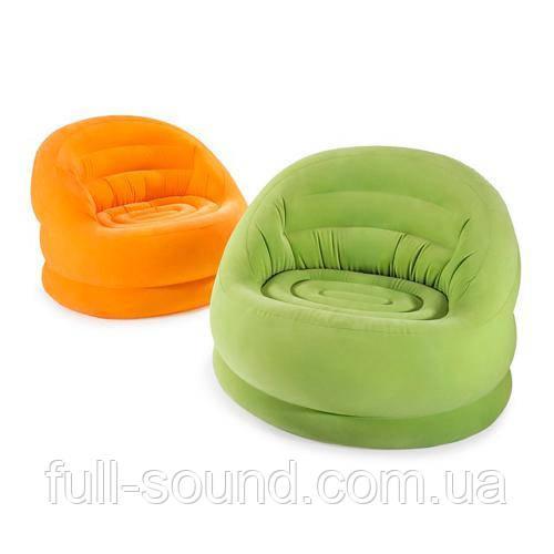 Надувное кресло Intex 68577 разные цвета
