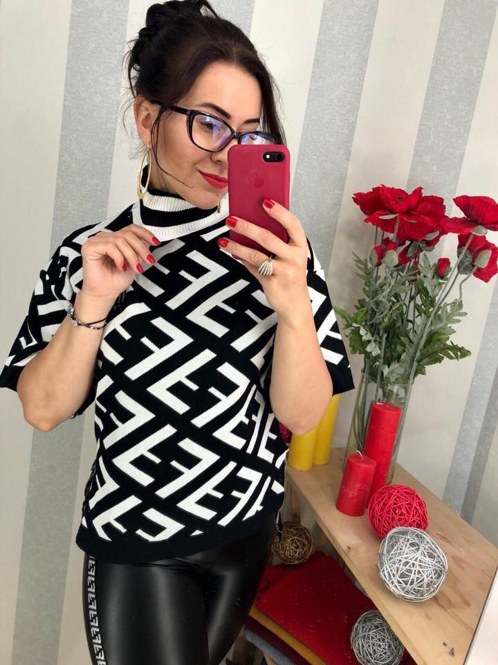 Женский элегантный свитер РАЗНЫЕ ЦВЕТА(Фабричный Китай ) Код 0171