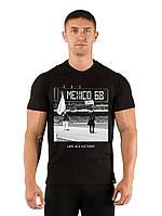 Мужская футболка с принтом MEXICO 68