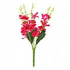 Букет орхидеи NZ-09 (12 шт./уп.) Искусственные цветы оптом, фото 3