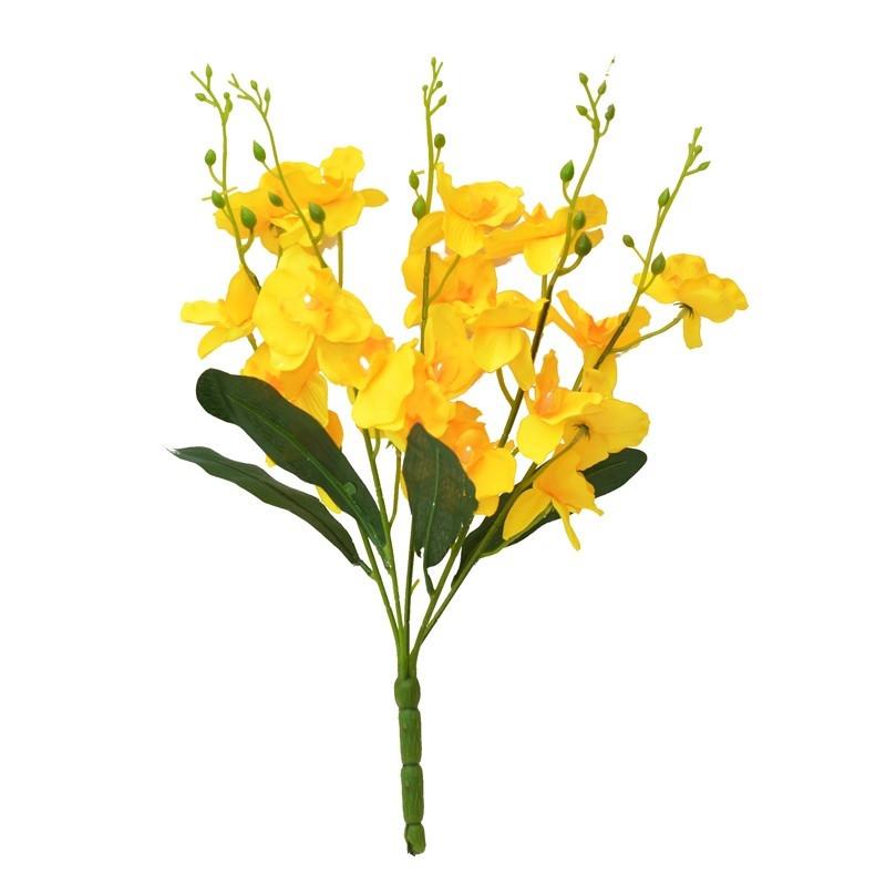 Букет орхидеи NZ-09 (12 шт./уп.) Искусственные цветы оптом