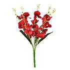 Букет орхидеи NZ-09 (12 шт./уп.) Искусственные цветы оптом, фото 5