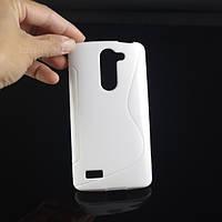 Чехол для LG L Bello D331 D335 Белый Бампер Накладка