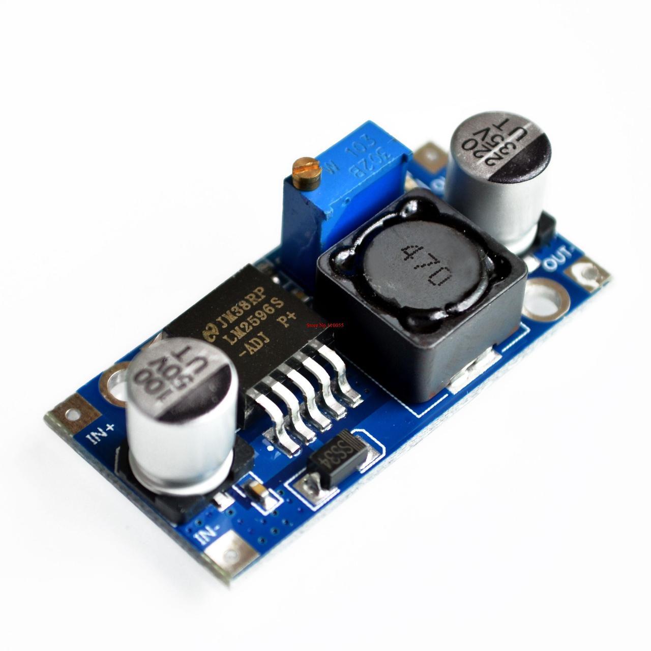 LM2596S стабилизатор регулируемый step down