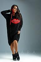Платье большого размера Likara. Размеры: батал(50-52, 54, 56); супербатал(58-60, 62), фото 1