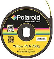 Картридж с нитью 1.75мм/0.75кг PLA Polaroid ModelSmart 250s, желтый