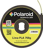Картридж с нитью 1.75мм/0.75кг PLA Polaroid ModelSmart 250s, лаймовый