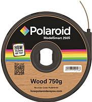 Картридж с нитью 1.75мм/0.75кг WOOD Polaroid ModelSmart 250s, цвет дерево